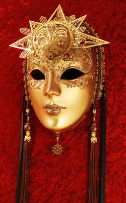 Luxury Venetian Mask for masquerade ball