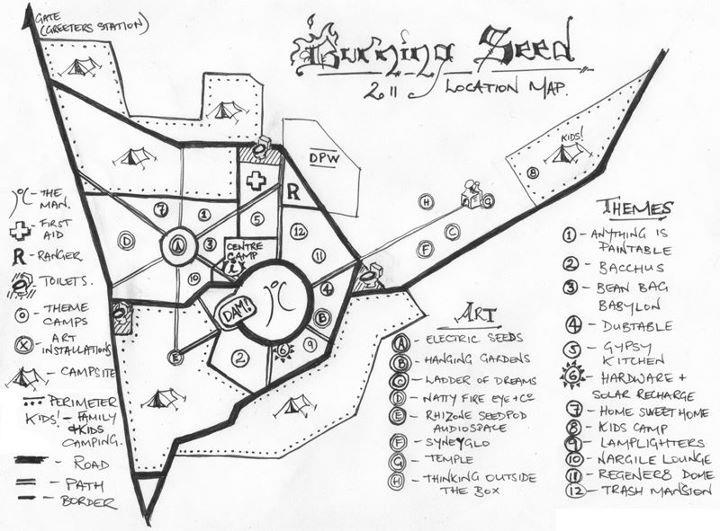 2011 Art Map for Red Earth City.