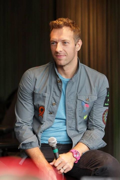 Chris Martin of Coldplay - Vegetarian