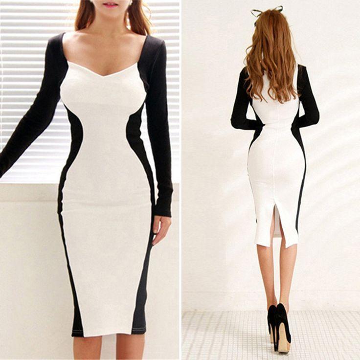 Купить товарНовые сексуальные женщины Bodycon платье повязку стрейч тонкий клубная одежда длинные ну вечеринку платье в категории Платьяна AliExpress.        100% новый и высокое качество.