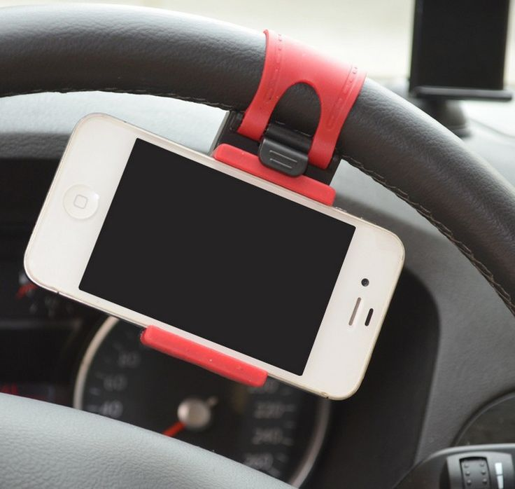Phone Holders for Automobile Steering Wheel Car High Quality Mounts & Holder For all Mobile Phone $10.99