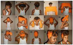 Turbante: Acessório da moda afro | Encrespando