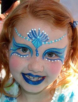face painting supplies | click images below to enlarge