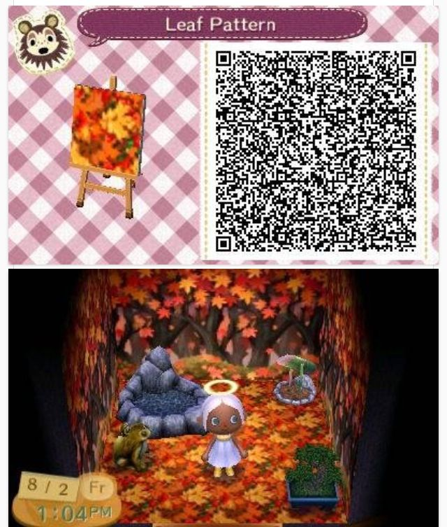Perfect For The Fall Acnl Qr Codes Pinterest The O