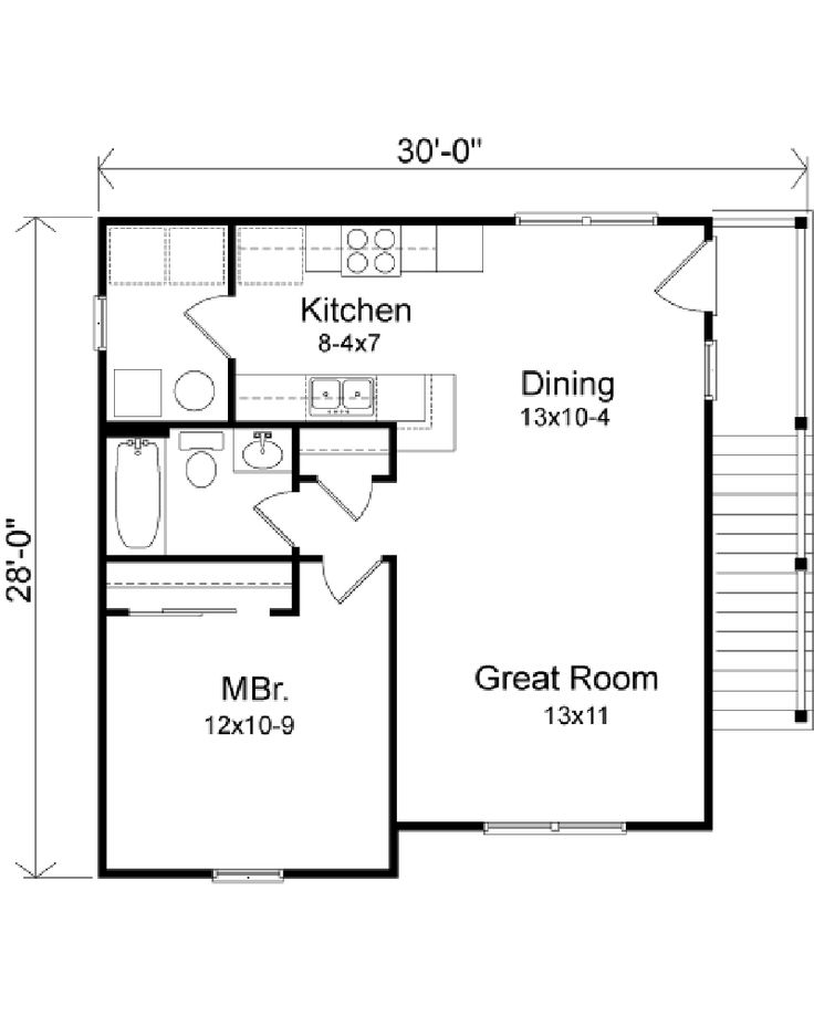 25 best ideas about garage apartment floor plans on for Garage apartment floor plans