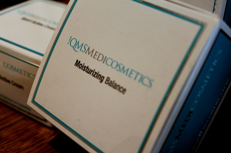 The !QMS Medicosmetics range was formulated by Dr Erich Schulte. We swear by it.