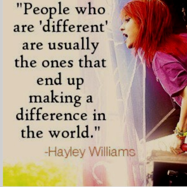 Make a difference :)