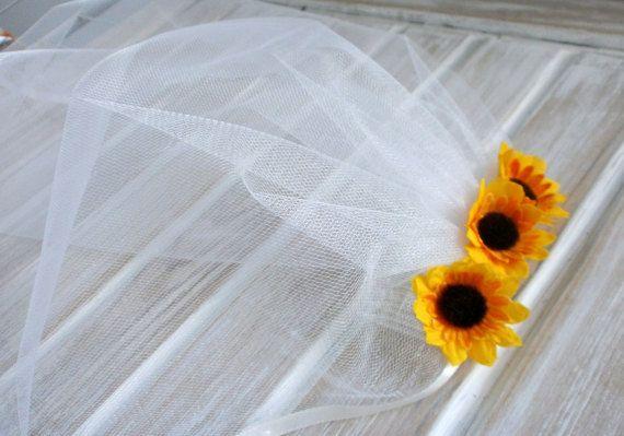 Bachelorette voile nuptiale de douche voile par HappyWeddingArt