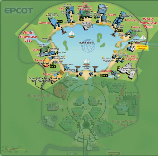 Guide to all Epcot attractions from WDWPrepSchool.com