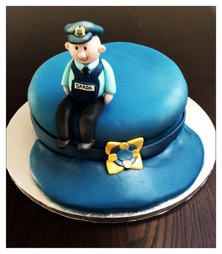 Garda birthday cake