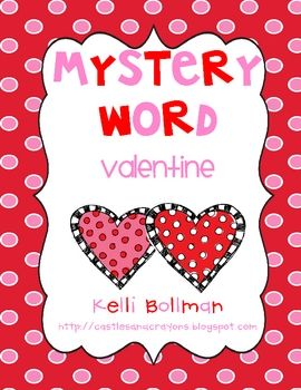 Free!! use the letters in the word valentine to make new words! Then, they can unscramble the letters to figure out the mystery word!