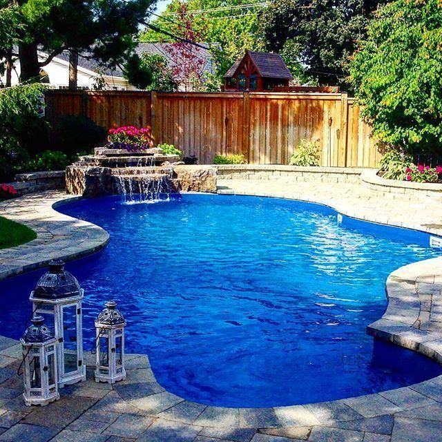 25 Great Backyard Pool Designs Ideas To Add Charm To Your Home Interiorsherpa Backyard Pool Small Inground Pool Backyard Pool Designs
