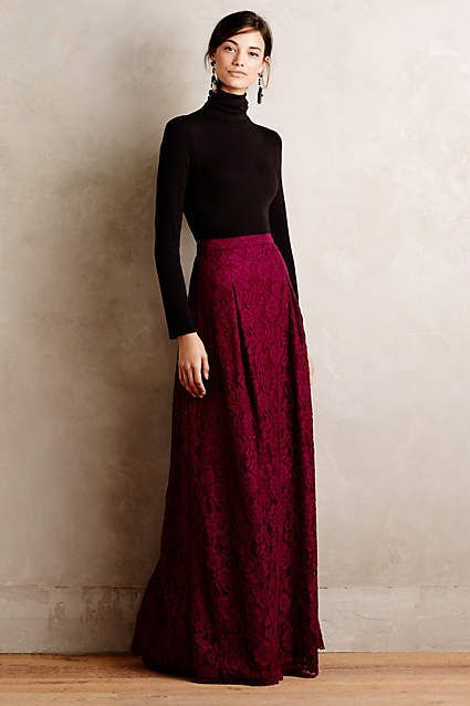 Etta Maxi Skirt - anthropologie.com