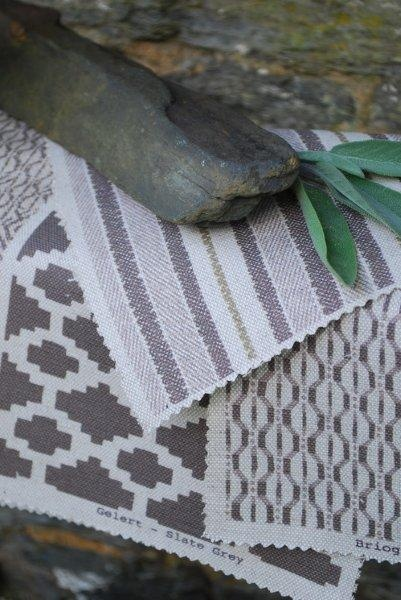 Fabrics from Damson and Slate