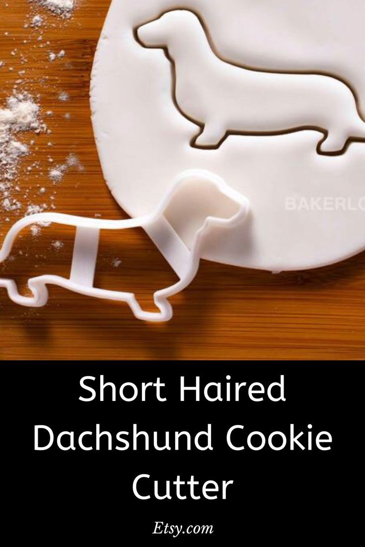 Sausage Dog Dachshund Weiner Dog Teckel Cookie Biscuit Cutter