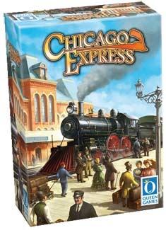 """CHICAGO EXPRESS es un juego de trenes que inicialmente se editó con el nombre de """"Wabash Cannonball"""" en una tirada limitada de gran éxito. Editado por Queen Games con unos componentes ya mas elaborados y muy chulos Chicago Express nos pone en la piel de magnates ferroviarios en los albores de la Era del Ferrocarril (""""Robber Barons"""") en los EE.UU. Nuestro objetivo es conseguir la mayor cantidad de dinero posible gracias a la compra de acciones. De 2 a 6 jugadores edición multilenguaje…"""
