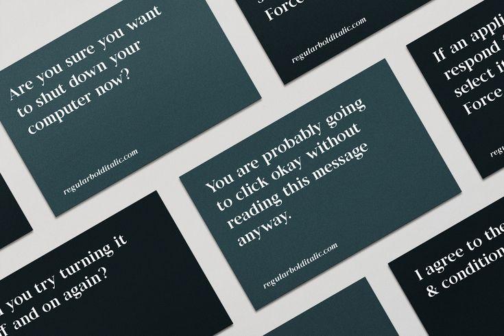 Staat Typeface