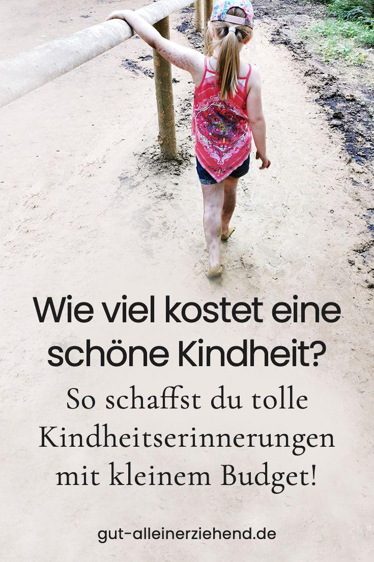 Schöne Kindheitserinnerung für wenig Geld   – Über den Blog Gut-alleinerziehend.de