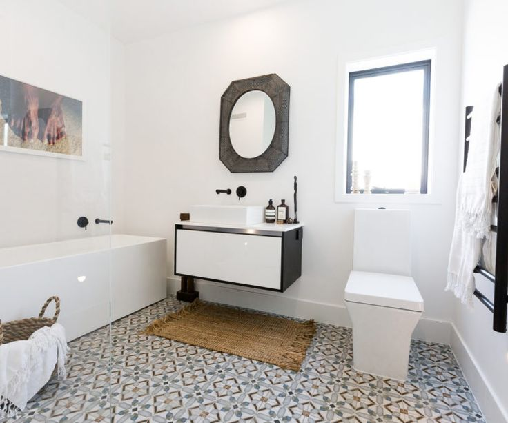 Don't worry if you missed last night's room reveal – we've found some of the pieces that Niki and Tiff featured in their winning bathroom, as featured on The Block NZ, to help you create a similar look at your place Get the look Tap Bath/Shower mixer Basin Bath Toilet Towel rail Vanity Madras mat …
