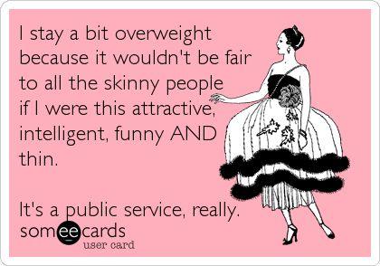 It's a public service ...