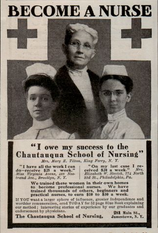 The Chautauqua part grabbed my eyes, I grew up in Chautauqua county although I attended nursing school in Northern NY.