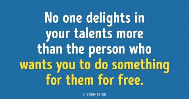 Noone delights more