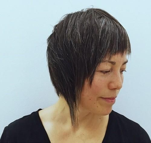 hair styles for fifty 1000 images about 01剪髮設計 bob haircut asymmetrical on 4357