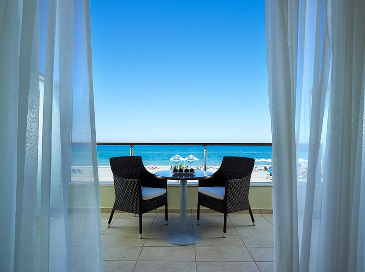 Incredible direct sea view from all the Imperial Double Water Front rooms!