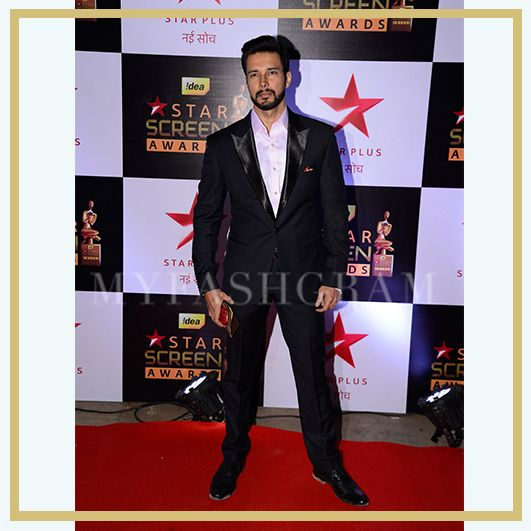Rajneesh Duggal at Star Screen Awards 2016