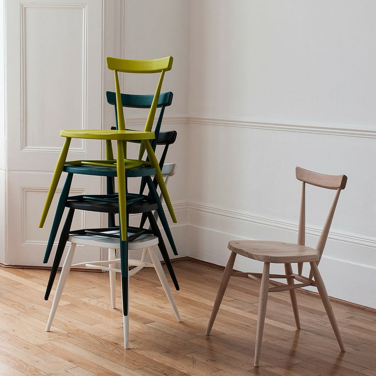 Original Stacking Chair: Remodelista