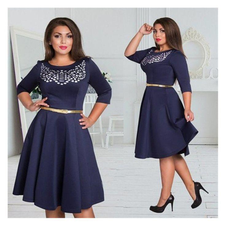 5xl 6xl 대형 2017 여름 dress 큰 크기 인쇄 dress 그린 블루 레드 드레스 플러스 사이즈 여성 의류 벨트 vestidos