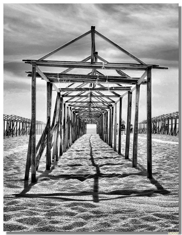 Empty season (Povoa de varzim / Portugal)    My Home/The beach we ALWAYS visit :)) <3