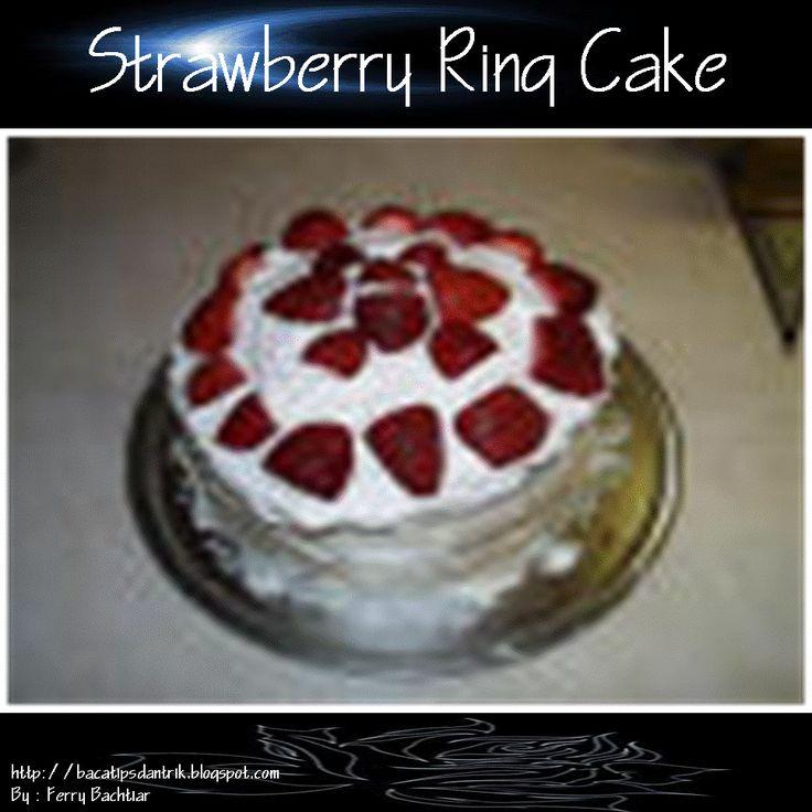 Strawberry Ring Cake