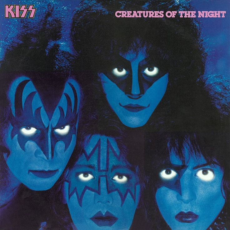 Creatures of the night - KISS with the late Eric Carr on Drums.