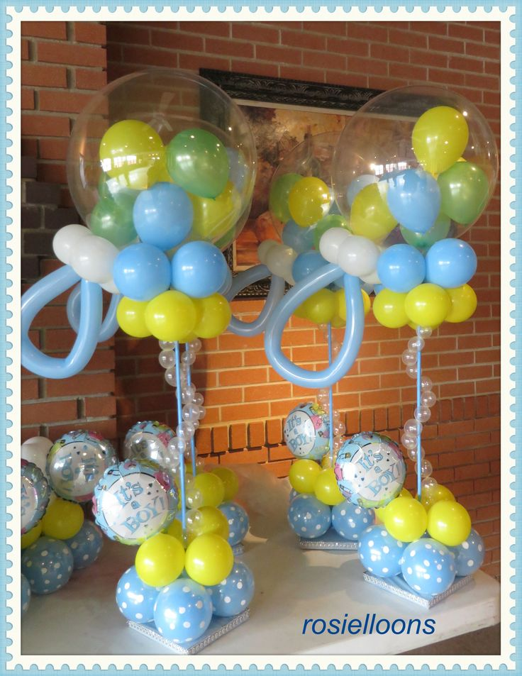 babyshower balloons baby shower party ideas