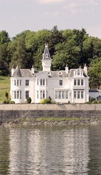 Hunters Quay Hotel, Dunoon Scotland--Stayed here in 1992 when we were moving back to the States