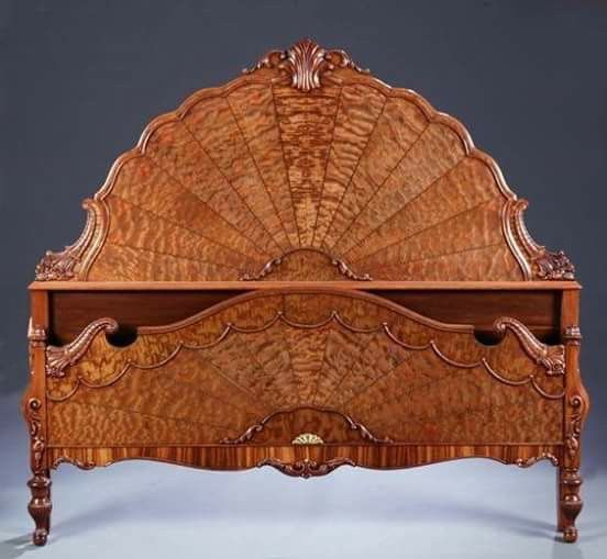 1920's Spiderweb bed frame