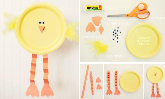 Een kuiken knutselen voor Pasen met je peuter/kleuter! - Handgemaakt - Rabboon, ontwerp unieke geboortekaartjes, alles voor uw baby en kind