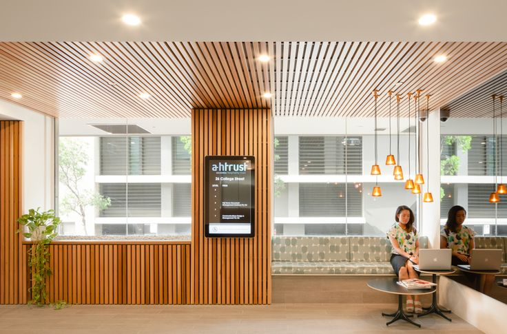 Foyer of College Street refurbishment by Bijl Architecture, Sydney. Photo: Katherine Lu