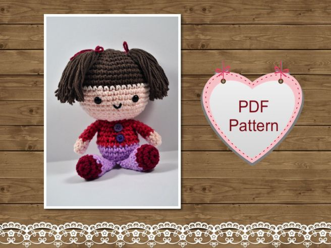 Amigurumi Patterns Doll Free : Crochet amigurumi free crochet amigurumi patterns diy