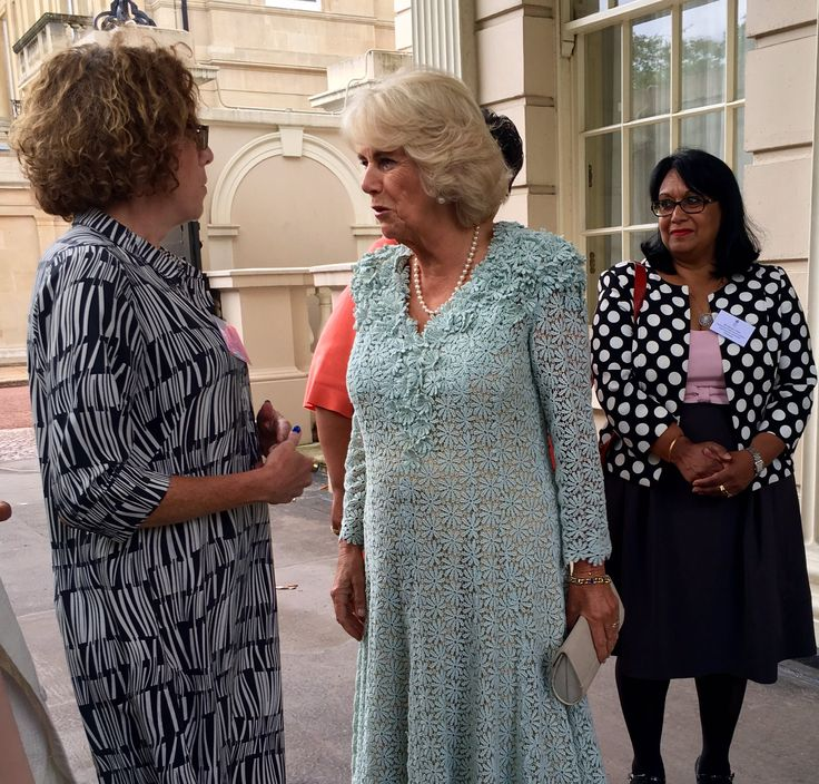 """Emily Nash on Twitter: """"I'm at @ClarenceHouse where the Duchess of Cornwall is hosting a reception for survivors of domestic abuse"""