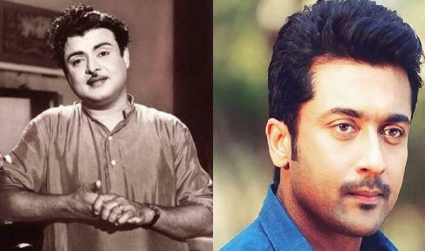 "The crew of ""Mahanadi"" spoke with Suriya to do the Gemini Ganesan role but unfortunately he couldn't do. #CineUpdates www.chennaiungalkaiyil.com."