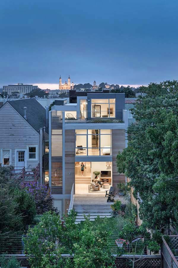 Modern townhouse in San Francisco designed for