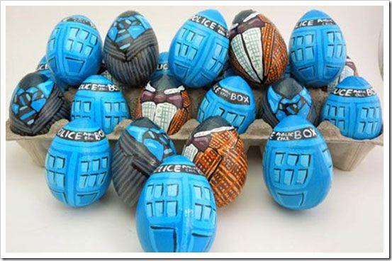 Doctor Who Easter eggs