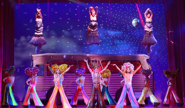 Priscilla Queen of the Desert, New Victoria Theatre, Woking - such a feel good, funny and touching show - LOOOOVE IT!