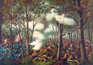 """On this day in 1811, the Battle of Tippecanoe is fought between Shawnee warriors and Americans led by future President William Henry Harrison. At the time, Harrison was serving as Governor of the Indiana Territory. His job was to negotiate treaties with Indian tribes in the area and to obtain as much land as possible for the United States. Some historians have praised his negotiating tactics, stating that he """"understood the niceties of the Indian style of bargaining."""" Others disagree."""