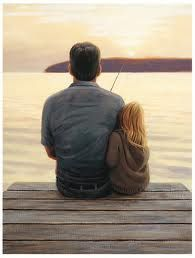 the most important guy in a girls life is her dad. the bond of a dad and daughter is undescribable. <3