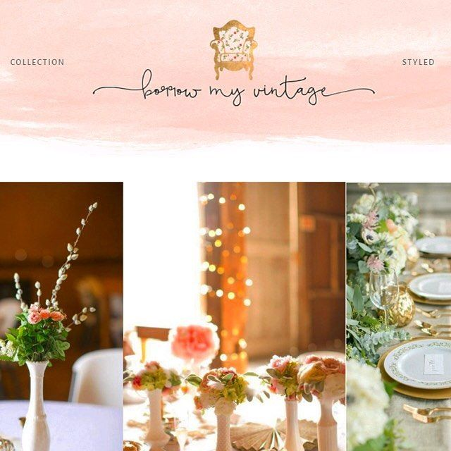 Excited to share this launch coming next week for Borrow My Vintage!  #vintage #wedding #rentals #websitedesign #love #instagood #photooftheday#instafollow #followback #risingtidesociety #blog #website #freelance #bossbabe #girlboss #entrepreneur