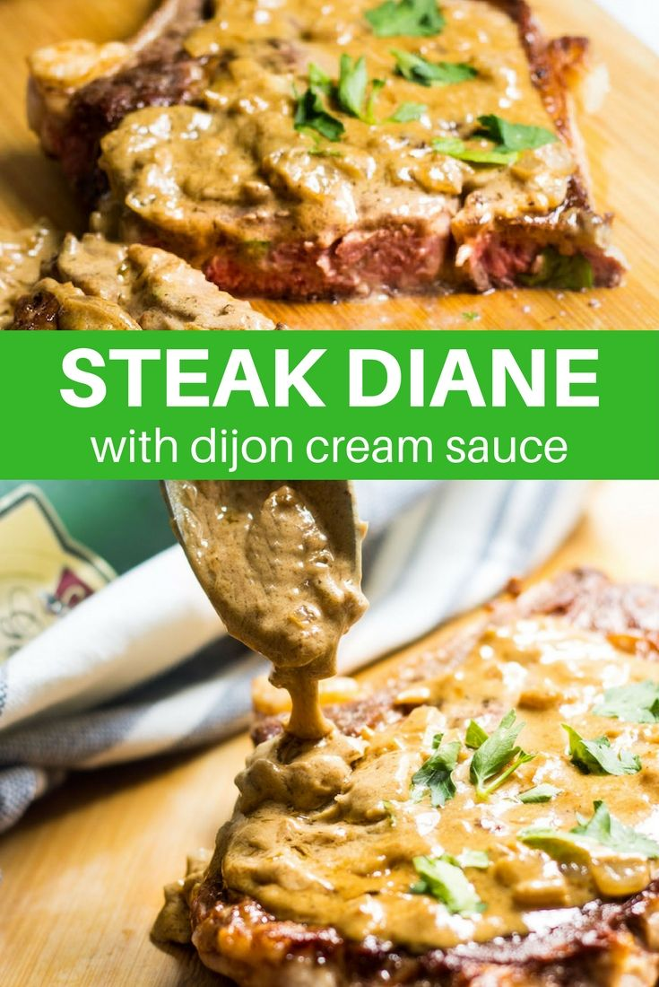 how to cook steak diane sauce