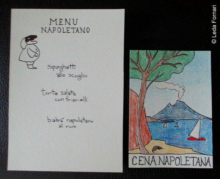 Leda Fornari's World: Cena napoletana